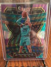 Pj Washington Jr 2019-20 Panini Select Tri Color Prizm Rc Rookie Sp Hornets
