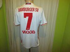 "Hamburger SV Original Adidas Heim Trikot 2016/17 ""Fly Emirates"" + Nr.7 Wood Gr.M"