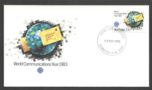 AUSTRALIA - 1983 World Communications Year - FIRST DAY COVER