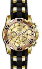 Gold Plated Case Men's Quartz (Battery) Sport Wristwatches