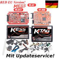 Chiptuning KESS V2 RED Master V5.017 + KTAG V7.020 / OBD2 Tuning ECU online