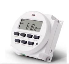 Programmable Lcd Digital Display 12v Dc Timer Time Switch Tm618h 2 Sinotimer