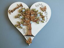 Family Tree personalised Heart Shape gift present
