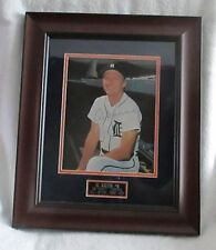 Al Kaline signed/framed Kaline Day stadium hand-out photo-Sold at charity  WOW!!