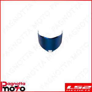 800805VIS17 RICAMBIO CASCO LS2 FF805 THUNDER VISIERA IRIDIUM BLUE