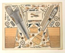 Pellerin Imagerie D'Epinal-No 390 G Aeroplane Monoplan du Systeme dit Antoinette