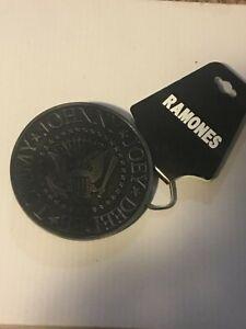 Ramones Classic Circle Belt Buckle (Joey-Deedee-Tommy-Johnny)