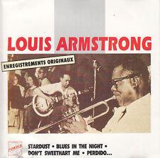 Louis Armstrong CD Enregistrements Originaux - France