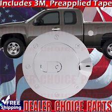 2007-2013 CHEVY SILVERADO GMC SIERRA 1500 Chrome ABS Gas Door COVER Trim Fuel