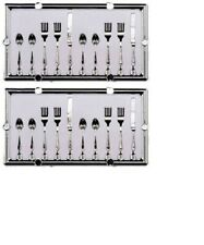 Dollhouse Miniatures 1:12 Scale Table Setting Silverware 20Pc #Im65171
