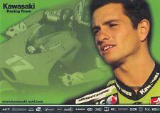 Randy de Puniet Un Signed Promo Card - MotoGP - Kawasaki.
