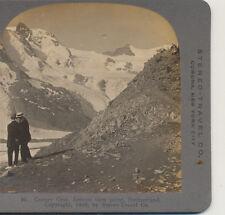 Men Gorner Grat Famous Viewpoint Switzerland Stereo Travel Stereoview1908