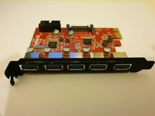 Inateck 5 port USB 3 PCI expansion card