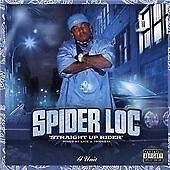 SPIDER LOC  Straight Up Rider  CD ALBUM  NEW - STILL SEALED