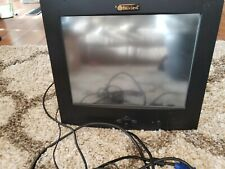 """Belview 14"""" Computer Screen With Stand And Cables"""