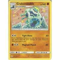 Crabominable - 105/214 - Rare Card - Pokemon TCG Sun & Moon Unbroken Bonds Cards