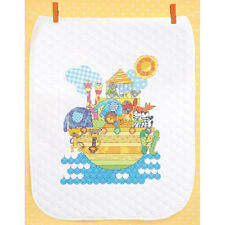 Dimensions Stamped Cross Stitch Kit - Noah's Animals Quilt