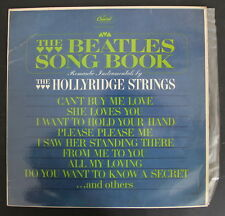 "Beatles Song Book by Hollyridge Strings 12"" LP 1964 Capitol T 2116 South Africa"