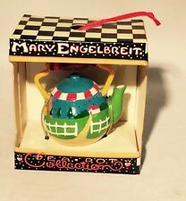 Mary Engelbreit Tea Pot Collection Country Sunflower Ornament Christmas