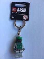 LEGO 851659 BOBA FETT KEY CHAIN BRAND NEW STAR WARS KEYRING