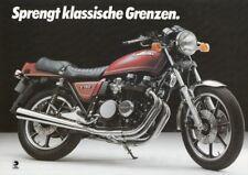 P + KAWASAKI Z 750 + Prospekt flyer Werbung + 1 Blatt 2 Seiten + aus 1982?