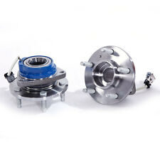 Both (2) New Set Front Driver and Passenger Wheel Hub and Bearing Assembly ABS