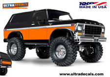orange couleur Traxxas trx-4 BRONCO peau corps Enveloppe STICKER TRX4