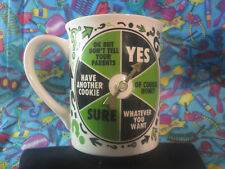 Grandparent Decision Maker Mug with Removable Spinner