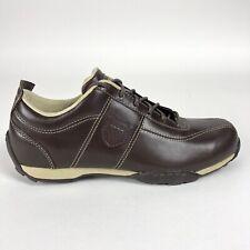 K Swiss Mens 8.5 Borel Shoes Chestnut Beige Low Top Retro Trainers 01253296