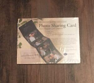 "Creative Memories Photo Sharing Card Black Holds 5 --  4"" x 6"" Photos NEW"