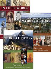 Notgrass - Exploring World History 3 volume set