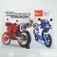 Revue technique atelier E.T.A.I moto Honda Nx 650 Dominator 1988-1998 N°71 Neuf