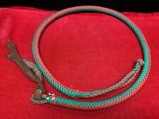 Red & Green Paracord-Like Quirt Whip