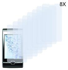 8 x Schutzfolie Huawei U8500 IDEOS X2 Klar Folie Displayfolie Screen Protector