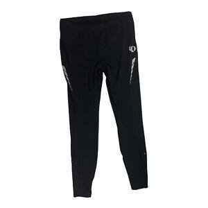 Pearl Izumi Black Fleece Lined Cycling Pants Size XL Softshell S1