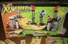 Xtreme Sports Skatepark 9157 Mega Bloks 400 piece Play Set w/instructions