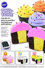 Wilton Two Tone Cupcake Tray plus dividing ring  FAST DESPATCH
