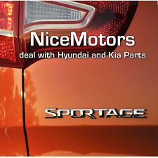 SPORTAGE Logo Chrome Trunk EMBLEM Genuine For KIA SPORTAGE 2011 2015