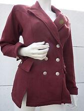 Veste demie saison Jacket Bordeaux Vintage 80 VTG Officier Taille 42 44