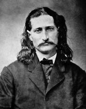 1869 Old West Hero WILD BILL HICKOK Vintage 8x10 Photo Glossy Print Lawman