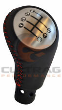 2005-2013 C6 Corvette Genuine GM Leather Manual Shift Knob Red Stitching