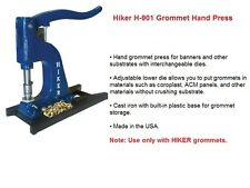 HIKER H-901 #2 DIE GROMMET HAND PRESS SIGN VINYL GRAPHIC BANNER EYELET