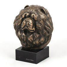 Chow Chow, dog bust marble statue, ArtDog Limited Edition, MY