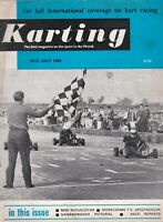 KARTING Magazine Mid July 1968 Morcambe TV Spectacular/New McCullochs/Reports