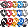 GUB 31.8mm 34.9mm Aluminum MTB Bike Bicycle Cycling Saddle Seat Post Clamp Clip