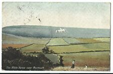 White Horse, Nr Weymouth PPC, Accrington 1909 PMK to Bowles, Wyatts Lane Wareham