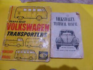 Volkswagen workshop manuals (2) 1963/1964