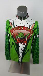 Primal Wear Cycling Jersey Long Sleeve 8/10 Zip Men's Size XL Frog 🐸 Jersey