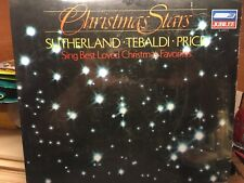 CHRISTMAS STARS : SUTHERLAND TEBALDI PRICE   Best Loved Christmas Favorites