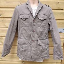 ESPIRIT De Corp Uomo Khaki/Olive Militare Field Jacket-M